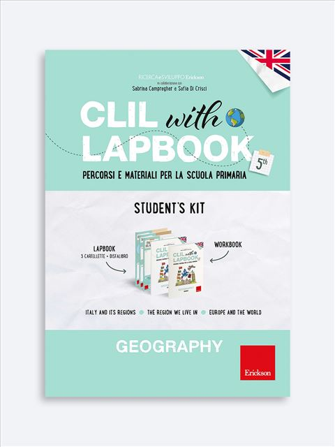 CLIL with LAPBOOK - GEOGRAPHY - Classe quinta - Libri - Erickson 3