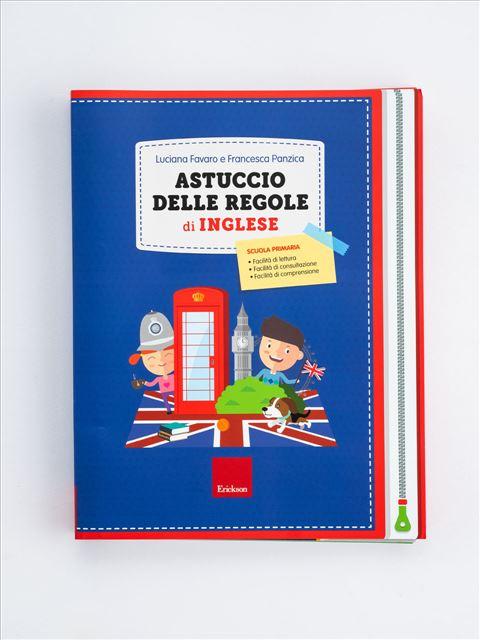 Astuccio delle regole di Inglese Libro - Erickson Eshop