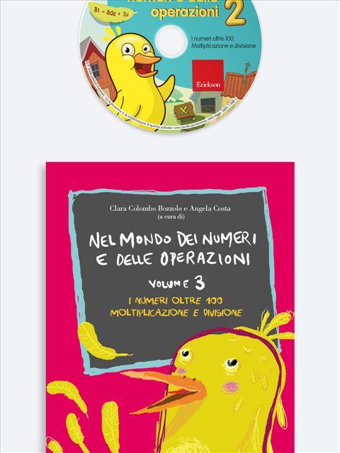Nel mondo dei numeri e delle operazioni Vol 3 + CD - Libri - Erickson