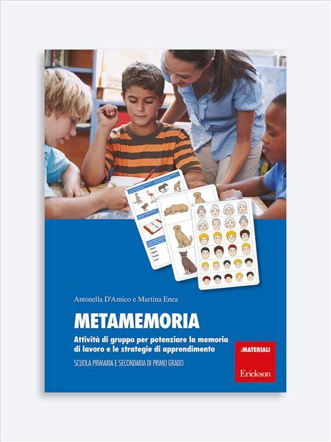 Metamemoria - Memoria attenzione e concentrazione - Erickson