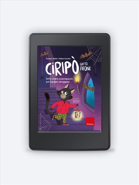 Ciripò gatto fifone - narrativa psicologicamente orientata - Erickson