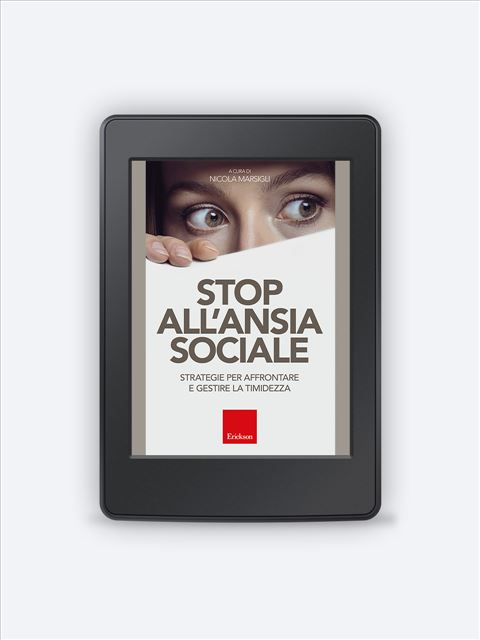 Stop all'ansia sociale Ebook - ePub2 - Erickson Eshop
