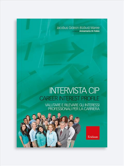 Intervista CIP - Career Interest Profile - Test diagnosi autismo, asperger, dislessia e altri DSA - Erickson