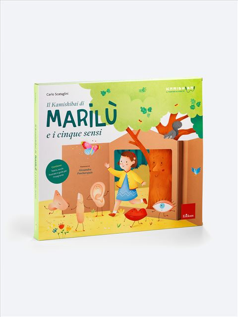 Il Kamishibai di Marilù e i cinque sensi - Giochi Educativi, istruttivi e divertenti per bambini - Erickson