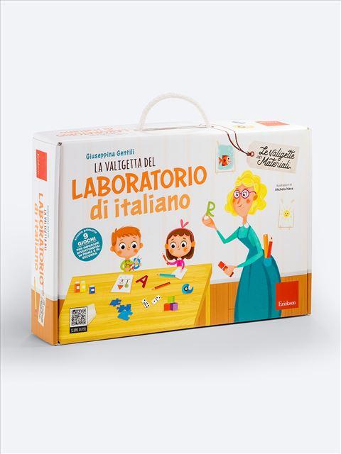 La valigetta del LABORATORIO DI ITALIANO Strumento per l'insegnante - Erickson Eshop