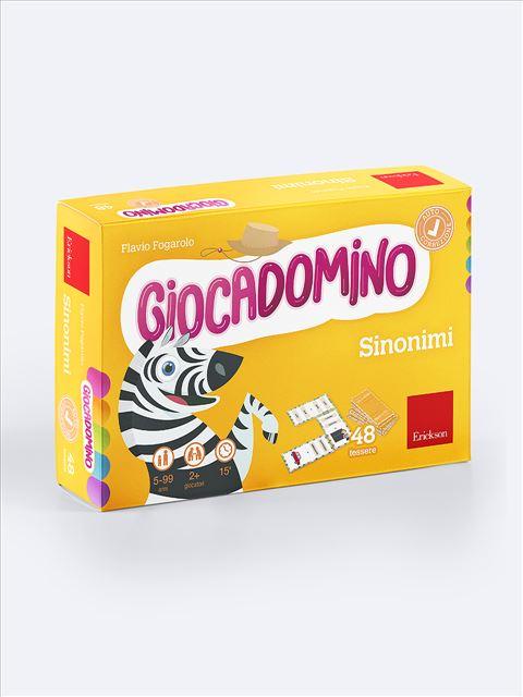 Giocadomino - Sinonimi - Area morfosintattica e semantico-lessicale - Erickson