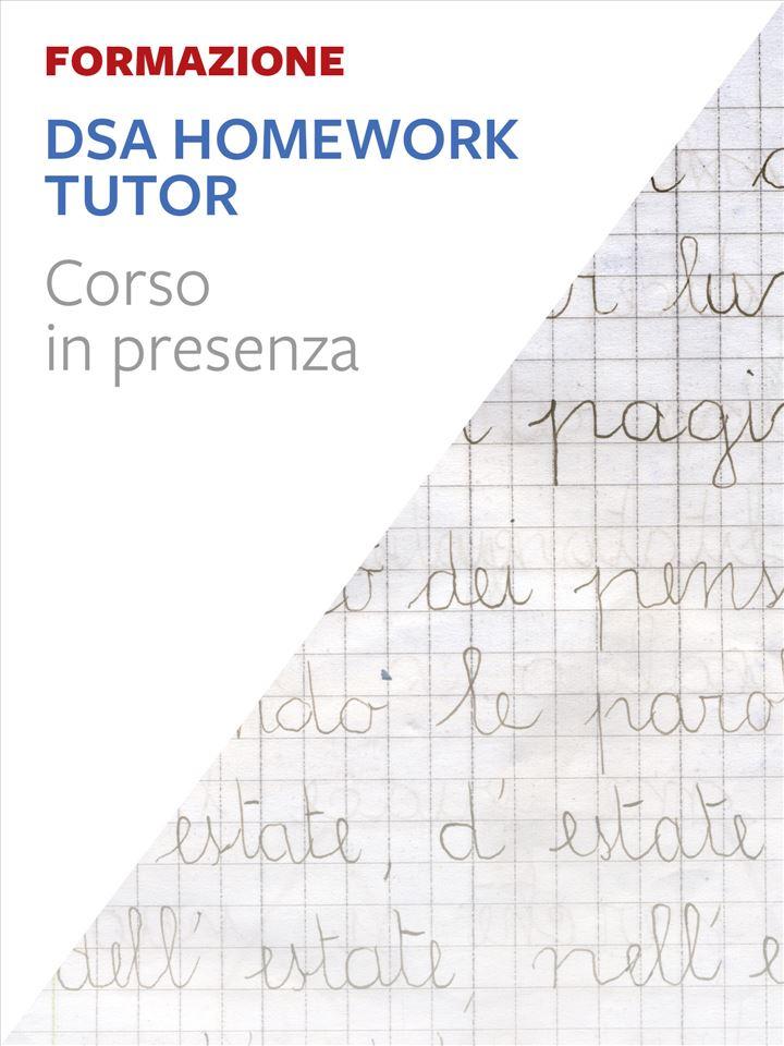 DSA Homework Tutor® Iscrizione Corso in aula - Erickson Eshop