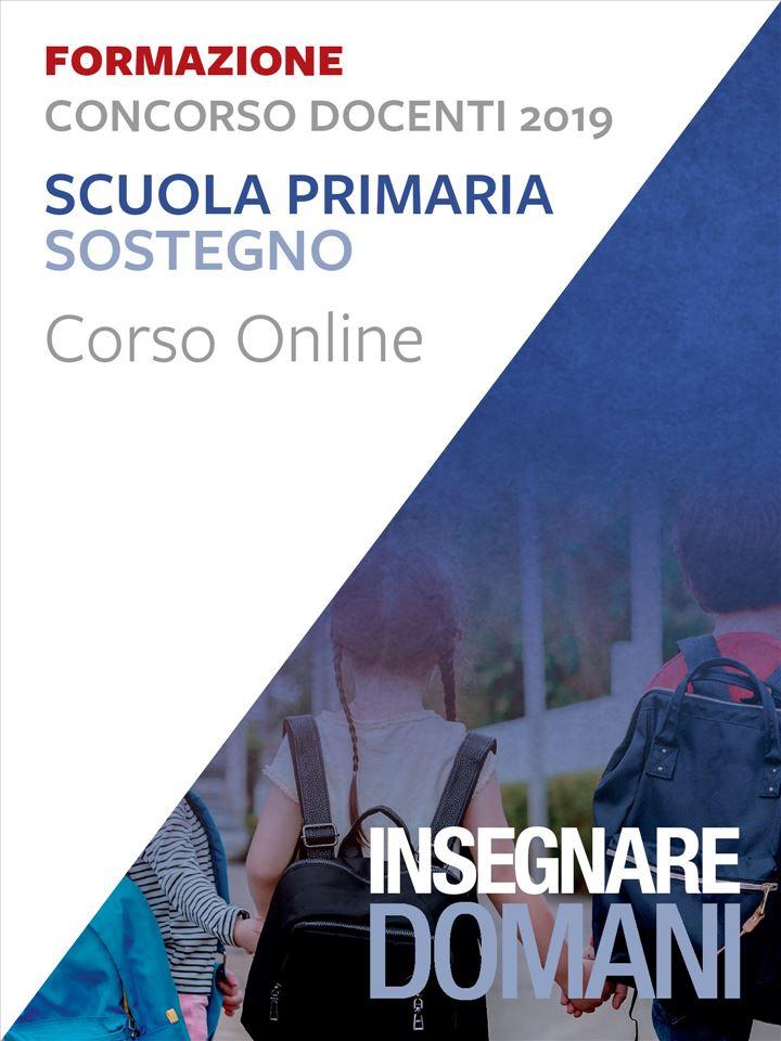 Insegnare domani - Scuola primaria sostegno - Conc Iscrizione Corso online - Erickson Eshop