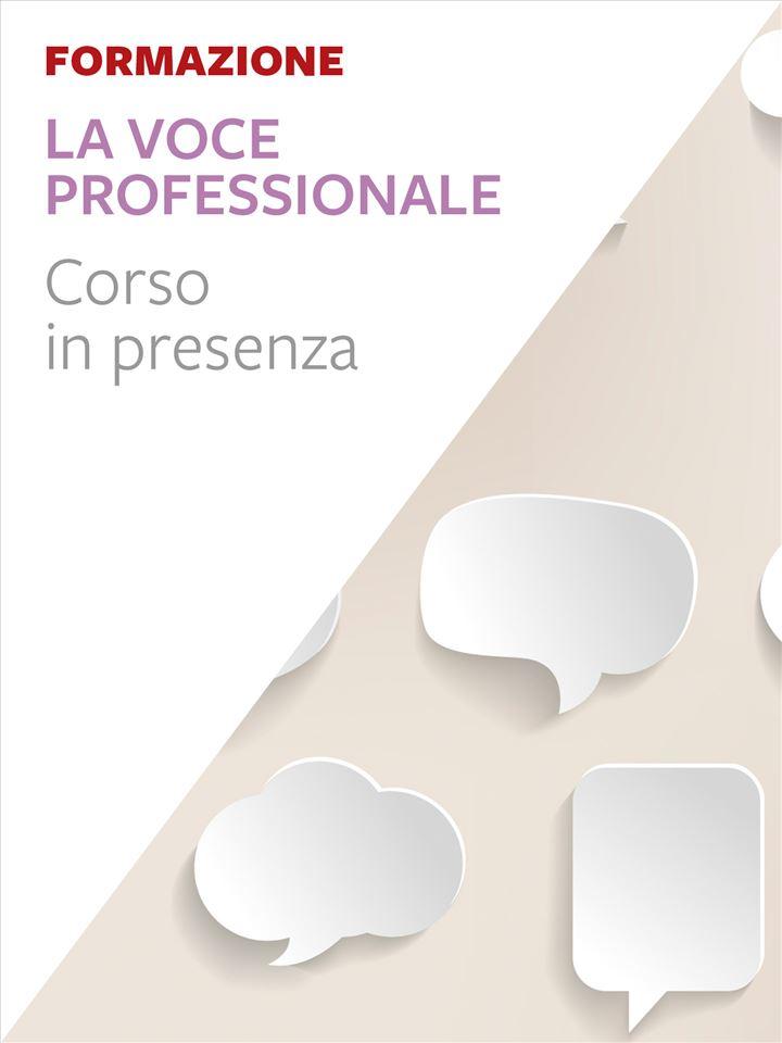 La voce professionale - Trento - Formazione per docenti, educatori, assistenti sociali, psicologi - Erickson