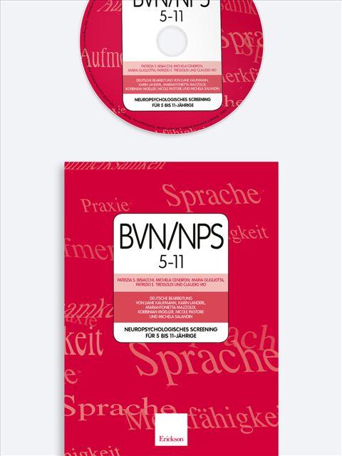 BVN/NPS 5-11 - Neuropsychologisches Screening für 5-11-jährige - BVN 5-11 - Batteria di valutazione neuropsicologic - Libri - Erickson