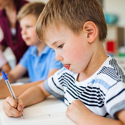bambini con disgrafia