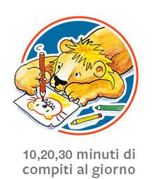 10 20 30 minuti di compiti al giorno