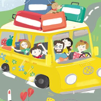 La famiglia monelli va in vacanza
