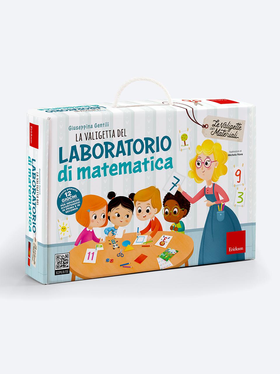 La valigetta del LABORATORIO DI MATEMATICA - Strumenti - Erickson